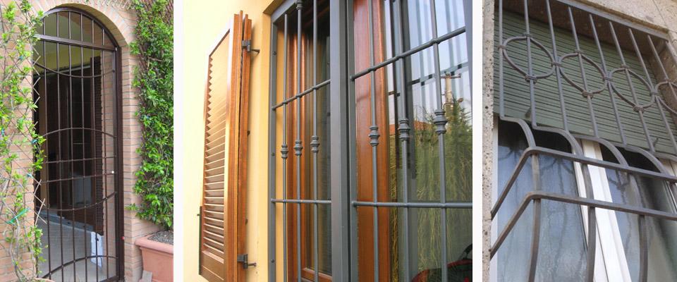 Inferriate e grate di sicurezza a Bernareggio